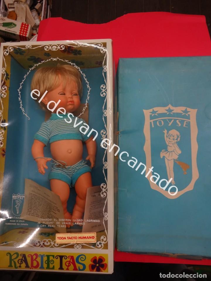 MUÑECA RABIETAS DE TOYSE. EN CAJA ORIGINAL (Juguetes - Otras Muñecas Españolas Modernas)