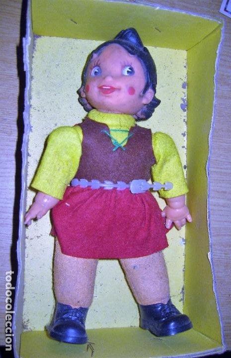 MUÑECA HEIDI VICMA . MADE IN SPAIN . 1976 ...EN CAJA PERO SI TAPA . POR ESTRENAR (Juguetes - Otras Muñecas Españolas Modernas)