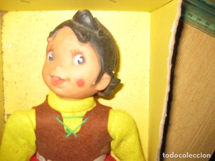 Muñecas Españolas Modernas: muñeca heidi vicma . made in spain . 1976 ...en caja pero si tapa . por estrenar - Foto 2 - 184654386