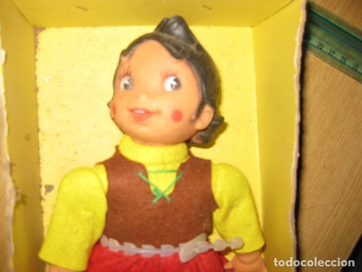 Muñecas Españolas Modernas: muñeca heidi vicma . made in spain . 1976 ...en caja pero si tapa . por estrenar - Foto 3 - 184654386