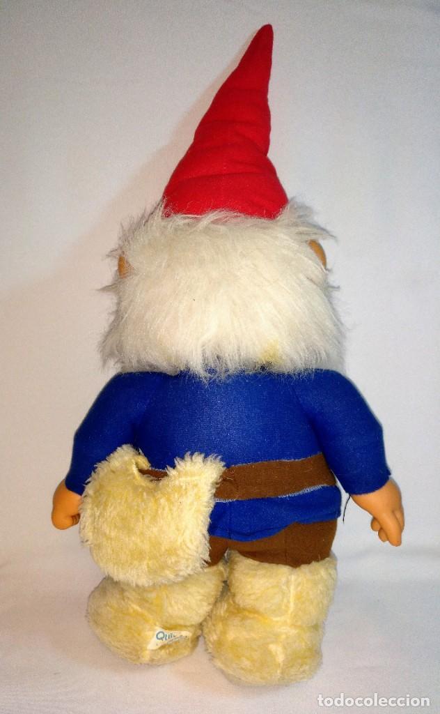 Muñecas Españolas Modernas: Pareja de muñecos de Trapo,Lisa y David los Gnomos.Quiron años 80 - Foto 15 - 184933250
