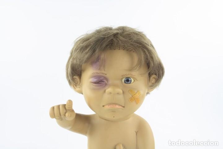 Muñecas Españolas Modernas: Muñeco Piti gestos, Joimy, año 1996, muy raro, 38 cm altura. Ver fotos. - Foto 2 - 185993466