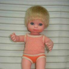 Muñecas Españolas Modernas: MUÑECO BABY MOCOSETE DE TOYSE AÑOS 70 *IMPECABLE*. Lote 186458718