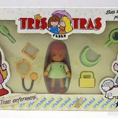 Muñecas Españolas Modernas: TRIS TRAS ENFERMERA - FEBER - AÑOS 80 - NUEVO Y EN SU CAJA ORIGINAL. Lote 189942600