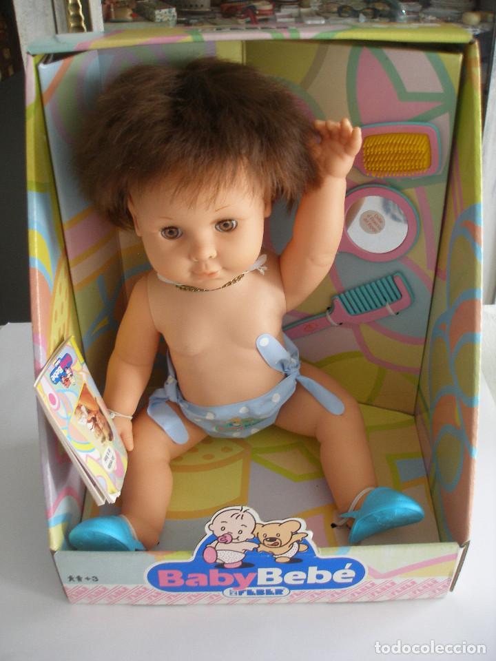 BABY BEBÉ FEBER 1990 NUEVO EN CAJA (Juguetes - Otras Muñecas Españolas Modernas)