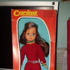 Muñecas Españolas Modernas: MUÑECA CARINA FABRICADA POR LA CASA VICMA, ORIGINAL AÑO 1976. A ESTRENAR CON SU CAJA.. Lote 191827810