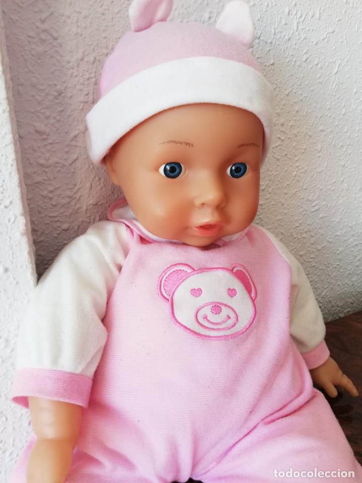 Muñecas Españolas Modernas: Muñeco bebé lissi dolls referencia en la nuca 518 FE - Foto 2 - 237704305