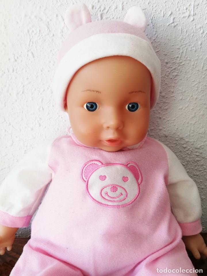 Muñecas Españolas Modernas: Muñeco bebé lissi dolls referencia en la nuca 518 FE - Foto 3 - 237704305