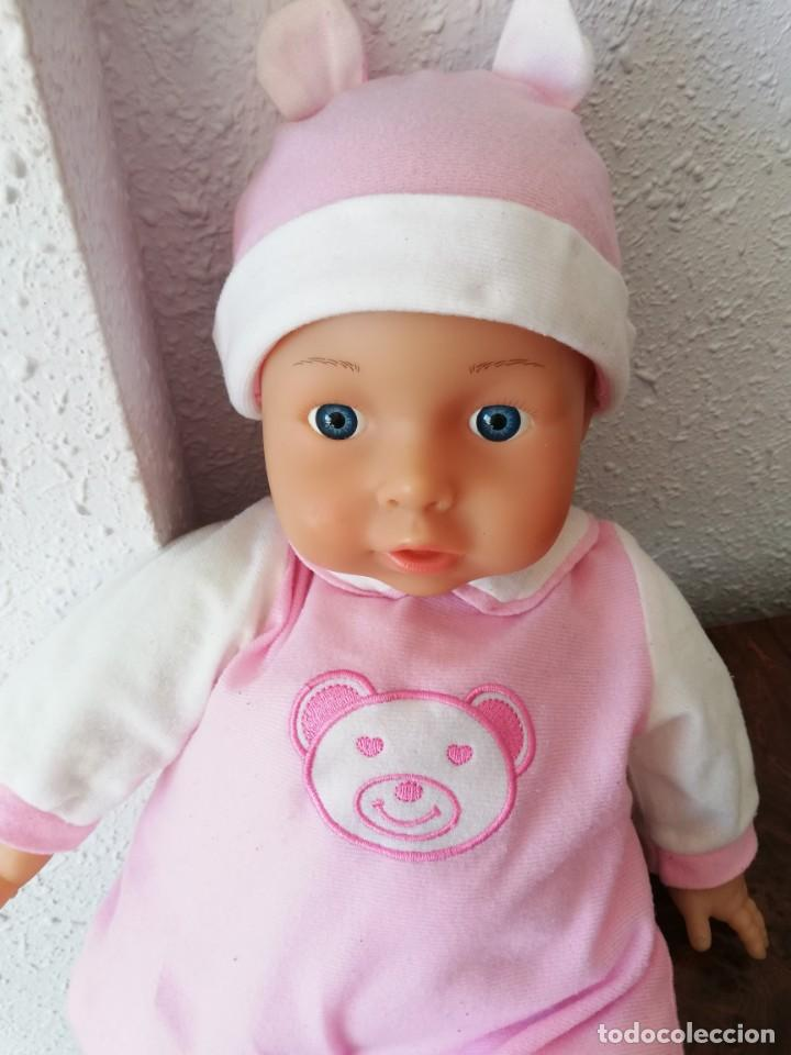 Muñecas Españolas Modernas: Muñeco bebé lissi dolls referencia en la nuca 518 FE - Foto 6 - 237704305