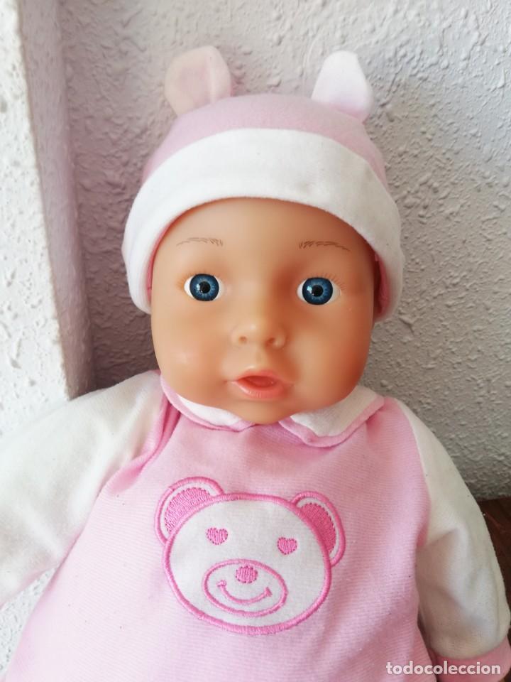 Muñecas Españolas Modernas: Muñeco bebé lissi dolls referencia en la nuca 518 FE - Foto 8 - 237704305