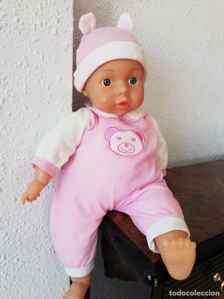 Muñecas Españolas Modernas: Muñeco bebé lissi dolls referencia en la nuca 518 FE - Foto 11 - 237704305