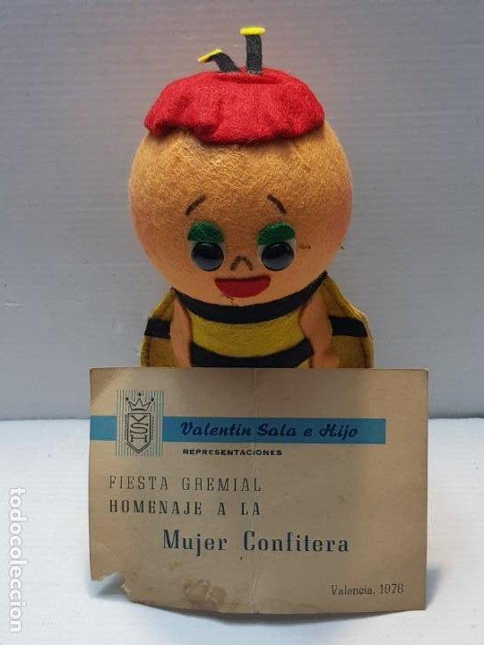 MUÑECO DE CONFITERIA HOMENAJE 1978 SELLADA (Juguetes - Otras Muñecas Españolas Modernas)