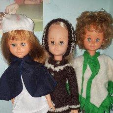 Muñecas Españolas Modernas: LOTE 3 SORAYAS DE JESMAR+ LOTE ROPA Y ZAPATOS +REGALO UNA CUARTA SORAYA. Lote 193385625