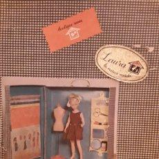 Muñecas Españolas Modernas: MUÑECA LAURA MANIQUI DE NOVO GAMA. Lote 194532228