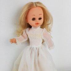 Muñecas Españolas Modernas: MUÑECA CAROLINA DE BEYMOL OJOS MARRONES. Lote 195338252
