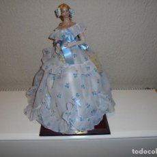Muñecas Españolas Modernas: MUÑECA MARIN MARGARITA SIGLO XIX.CON LA ETIQUETA DE CERTIFICACION DE SELECCIONES MARIN. Lote 195431717