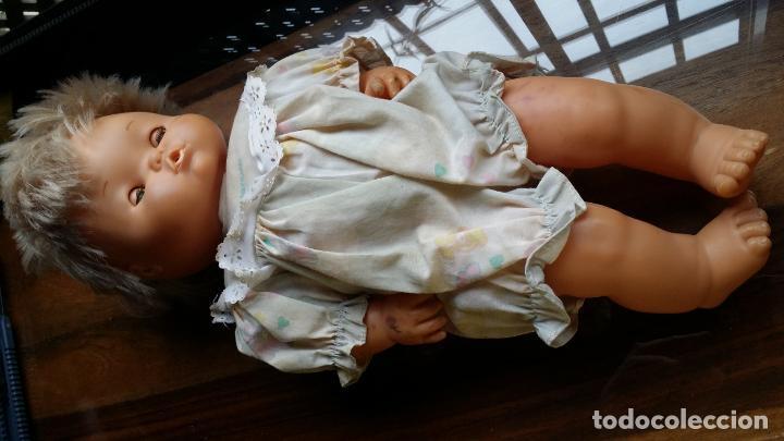 Muñecas Españolas Modernas: Antiguo muñeco Nenuco de Famosa. Año 1989 en nuca - Foto 5 - 198745291