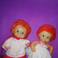Bambole Spagnole Moderne: PAREJA PELIROJO FLORIDO ROMEO Y JULIETA. Lote 202860621
