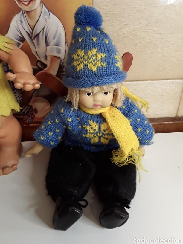Muñecas Españolas Modernas: Lote de 4 muñecas y muñecos antiguos - Foto 2 - 203615883