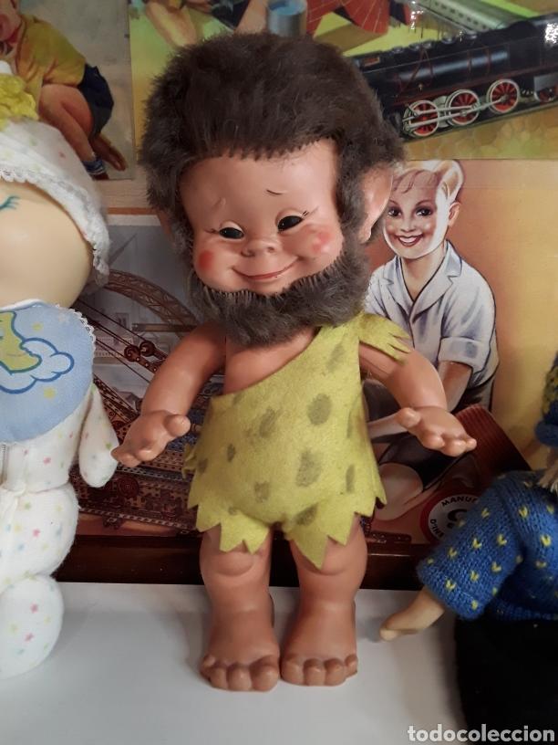 Muñecas Españolas Modernas: Lote de 4 muñecas y muñecos antiguos - Foto 3 - 203615883