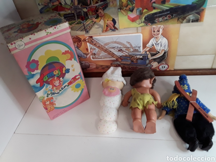 Muñecas Españolas Modernas: Lote de 4 muñecas y muñecos antiguos - Foto 6 - 203615883