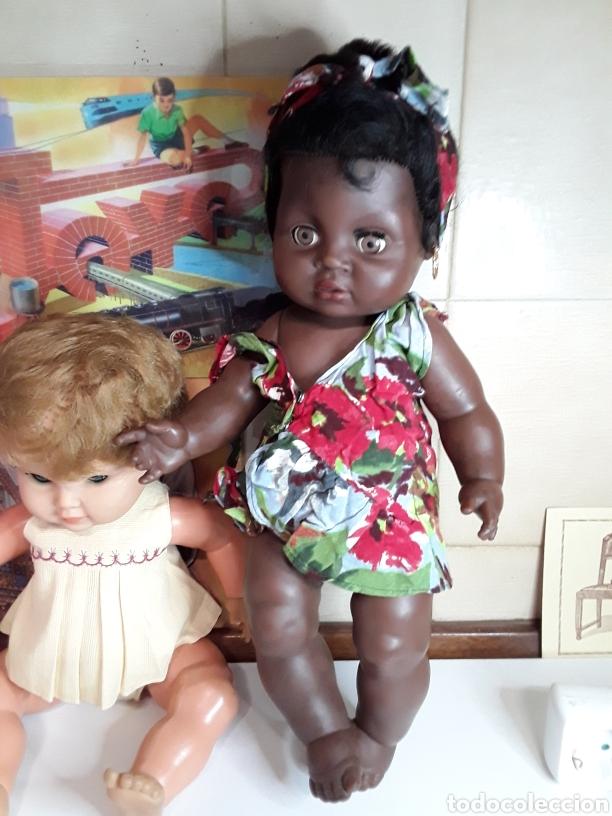 Muñecas Españolas Modernas: Lote de 5 antiguas muñecas - Foto 2 - 203619938