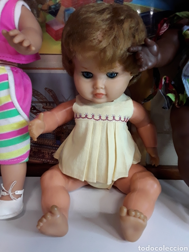 Muñecas Españolas Modernas: Lote de 5 antiguas muñecas - Foto 3 - 203619938