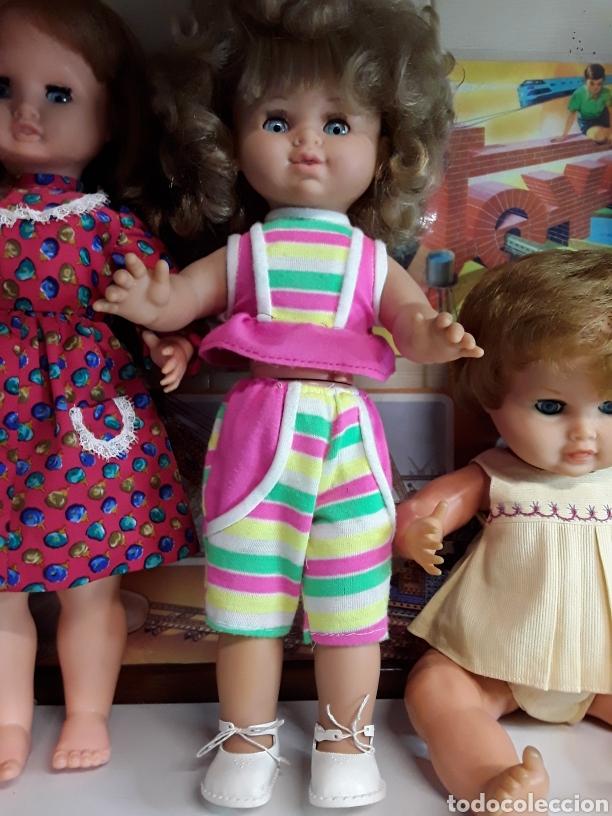 Muñecas Españolas Modernas: Lote de 5 antiguas muñecas - Foto 4 - 203619938