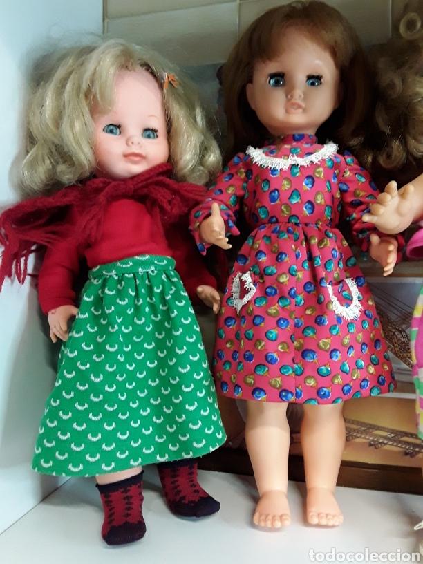 Muñecas Españolas Modernas: Lote de 5 antiguas muñecas - Foto 5 - 203619938