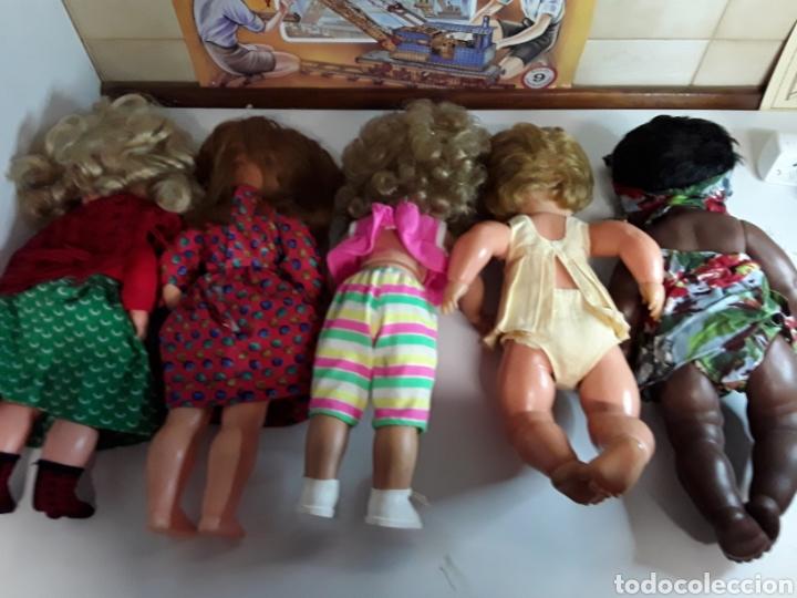 Muñecas Españolas Modernas: Lote de 5 antiguas muñecas - Foto 7 - 203619938