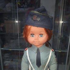 Muñecas Españolas Modernas: ÚNICA EN TODOCOLECCION DIFÍCIL MUÑECA POLICIA AEREA PRECONSTITUCIONAL DE JESMAR LEER DESCRIPCION. Lote 204389935
