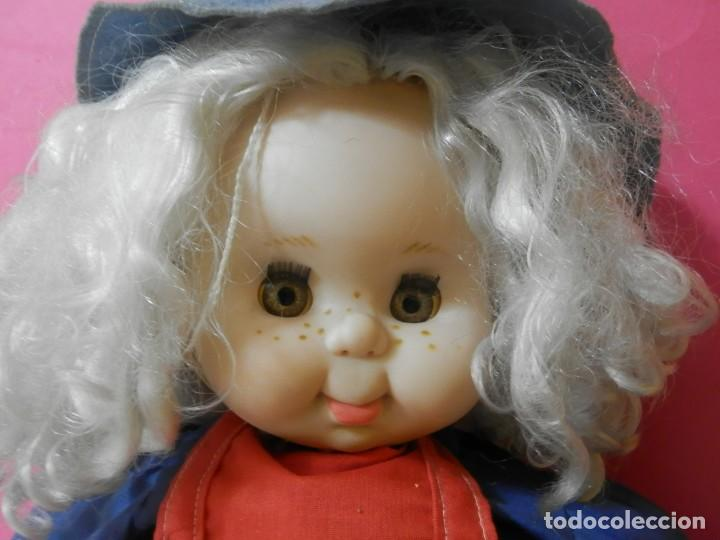 Muñecas Españolas Modernas: MUÑECA BRUJA, BRUJITA MARCA B.B MADE IN SPAIN. PARECIDA A PITIROLA AÑOS 80 - Foto 2 - 204420541