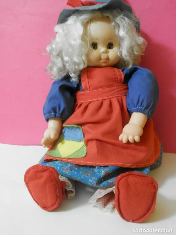 Muñecas Españolas Modernas: MUÑECA BRUJA, BRUJITA MARCA B.B MADE IN SPAIN. PARECIDA A PITIROLA AÑOS 80 - Foto 3 - 204420541