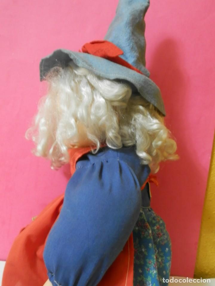 Muñecas Españolas Modernas: MUÑECA BRUJA, BRUJITA MARCA B.B MADE IN SPAIN. PARECIDA A PITIROLA AÑOS 80 - Foto 8 - 204420541