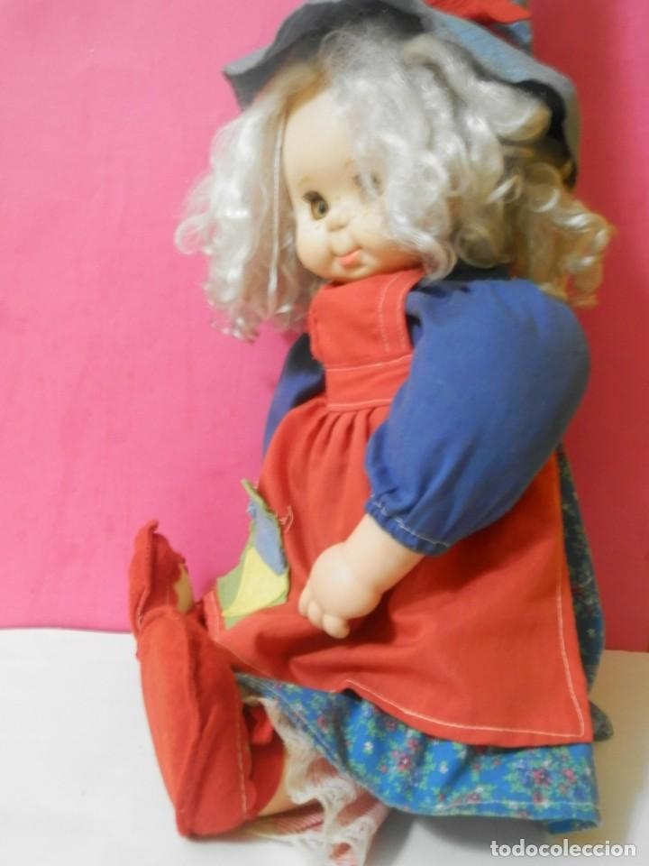 Muñecas Españolas Modernas: MUÑECA BRUJA, BRUJITA MARCA B.B MADE IN SPAIN. PARECIDA A PITIROLA AÑOS 80 - Foto 9 - 204420541
