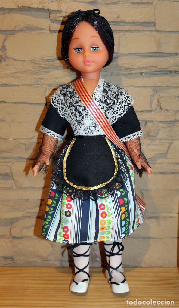 Muñecas Españolas Modernas: ANTIGUA MUÑECA ASELA NICOL, DE JUBER - NUEVA Y EN SU CAJA ORIGINAL - A ESTRENAR - 48cm - Foto 4 - 207197720