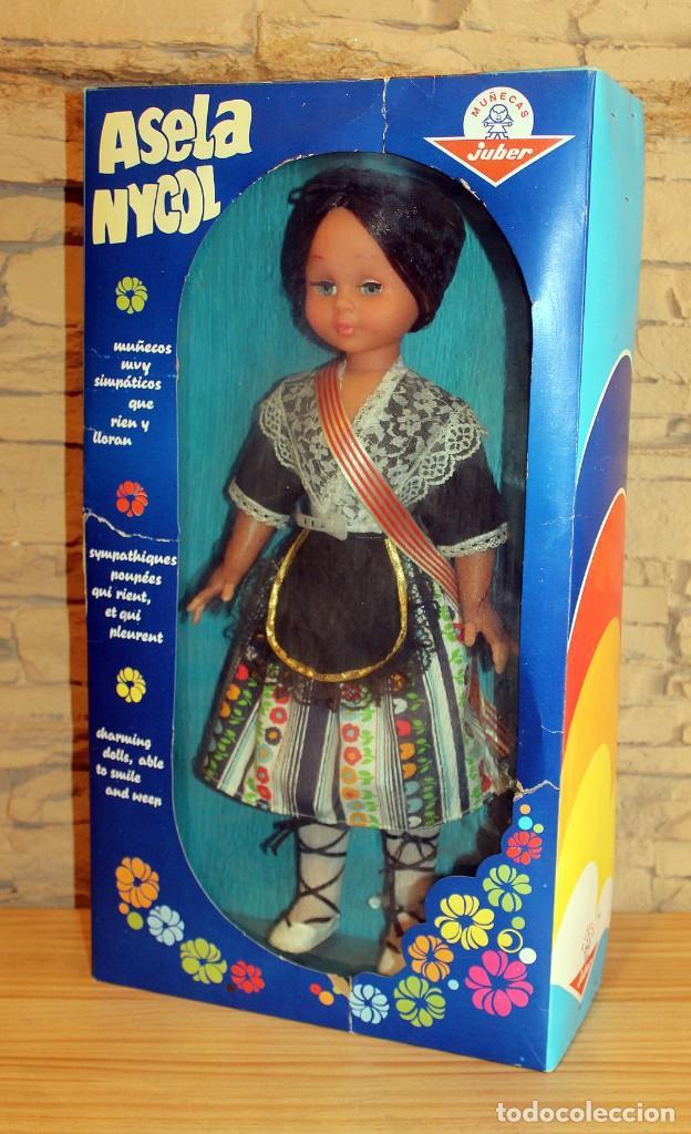 Muñecas Españolas Modernas: ANTIGUA MUÑECA ASELA NICOL, DE JUBER - NUEVA Y EN SU CAJA ORIGINAL - A ESTRENAR - 48cm - Foto 7 - 207197720