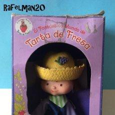 Muñecas Españolas Modernas: EL FANTÁSTICO MUNDO DE TARTA DE FRESA - P.B.P. - POCH - KENNER - CARAMELO - TARTA FRESA ANTIGUAS. Lote 208092692