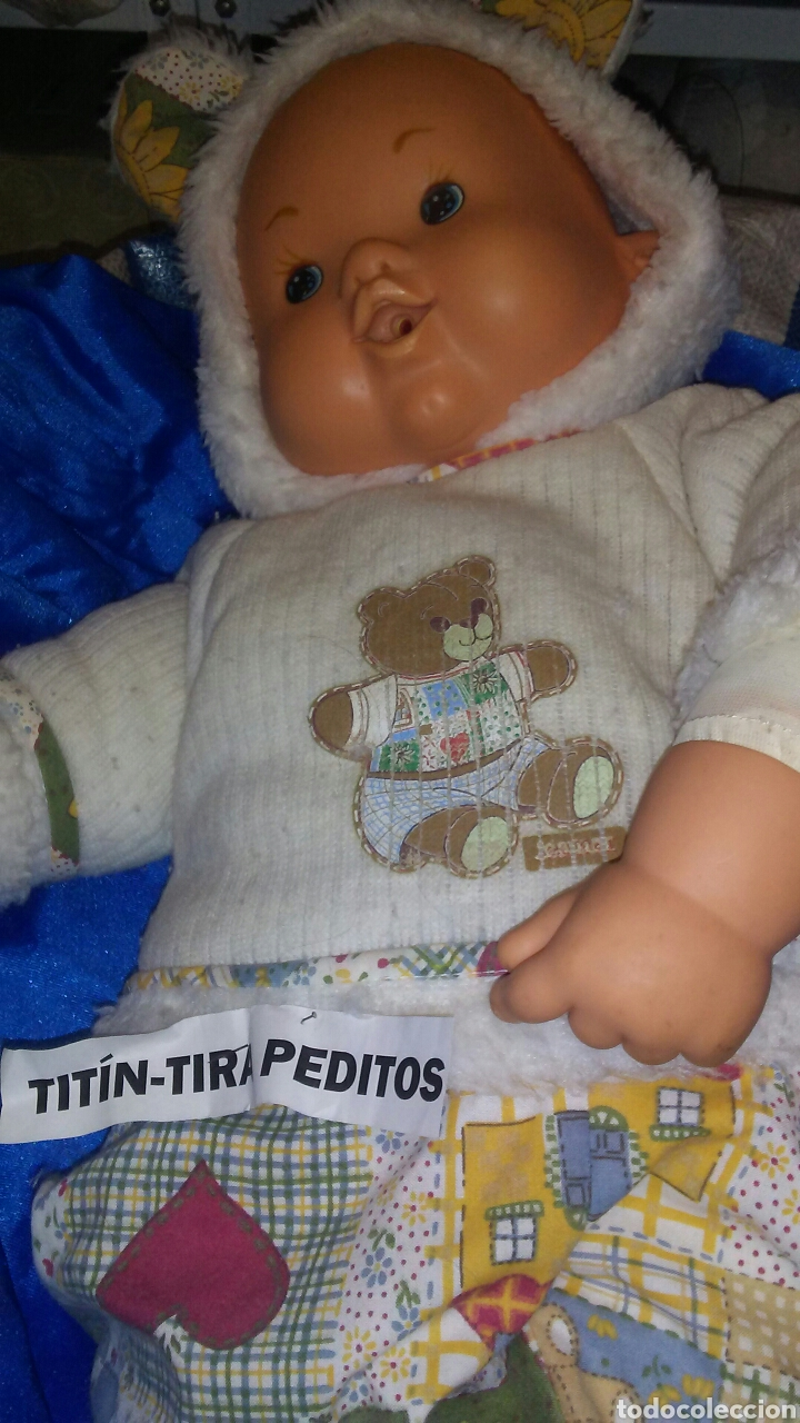 Muñecas Españolas Modernas: Muñeco Titin tira peditos de Jesmar ,mide sobre 50 cent ,la ropa es original . - Foto 2 - 208589620