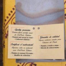 Muñecas Españolas Modernas: MUÑECA DE PORCELANA DEL PRADO. Lote 209686626