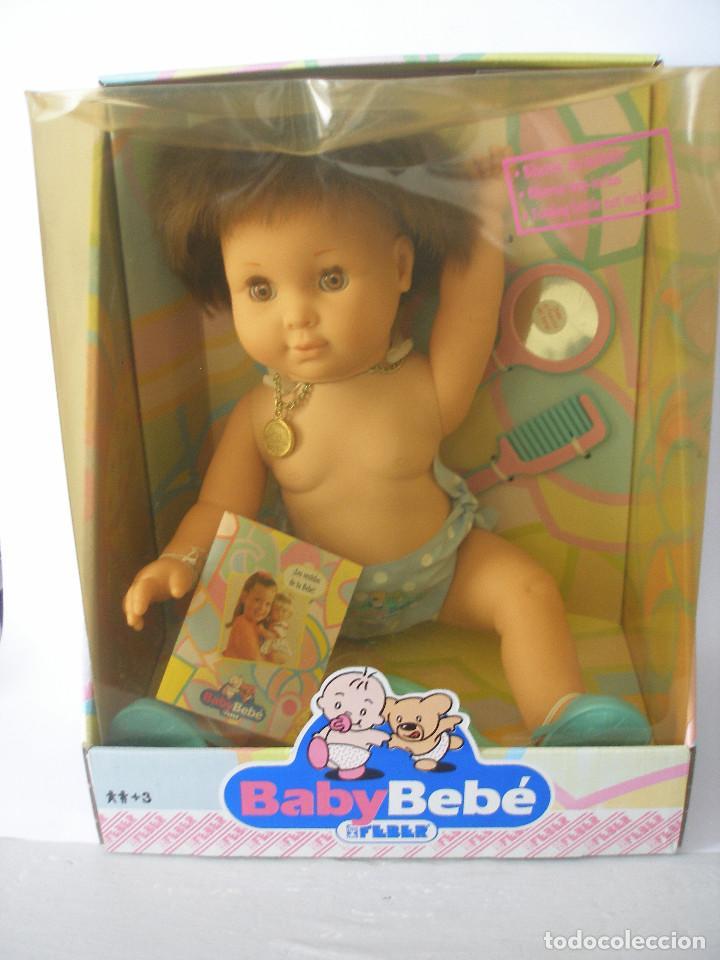 Muñecas Españolas Modernas: Baby bebé Feber 1990 nuevo en caja - Foto 7 - 209731081