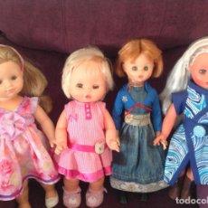 Bambole Spagnole Moderne: 2 MUÑECAS BB, UNA FURGA Y OTRA DE MARCA DESCONOCIDA.. Lote 210180710