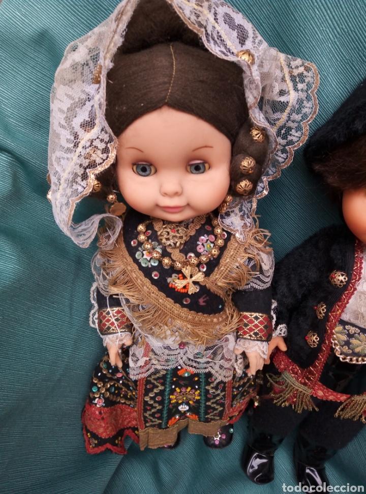 Muñecas Españolas Modernas: Pareja de muñecos vestidos de carros. - Foto 2 - 211454276