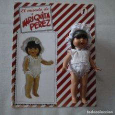Muñecas Españolas Modernas: EL MUNDO DE MARIQUITA PÉREZ N.º 1 - FASCÍCULO+MUÑECA - ALTAYA - 2001. Lote 212110556