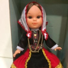 Muñecas Españolas Modernas: MUÑECA EN TRAJE REGIONAL TÍPICO, DE LA CASA FOLK ARTESANIA. A ESTRENAR. 24 CM.. Lote 212880487