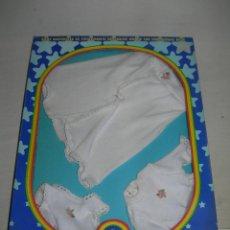Muñecas Españolas Modernas: CONJUNTO O TRAJE EQUIPO PAÑALITOS DE BABY MOCOSETE EN SU CAJA ORIGINAL - TOYSE AÑOS 70 -. Lote 214147275
