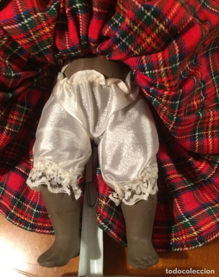 Muñecas Españolas Modernas: Preciosa muñeca negrita toda de terracota 30cm años setanta - Foto 19 - 185699350