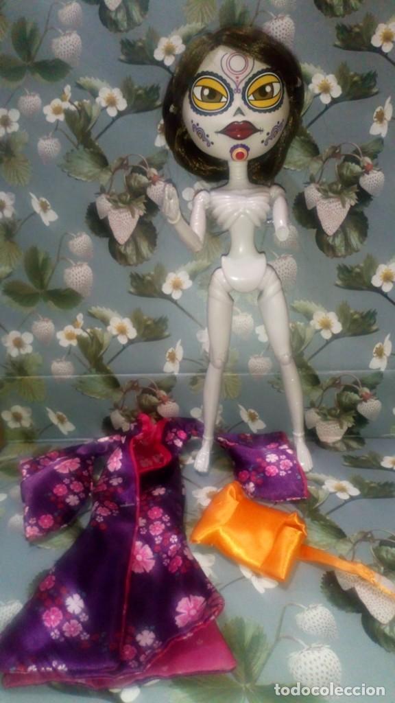 Muñecas Españolas Modernas: BONITA MUÑECA MARIKO DE CATRINAS UNDERWORLD - CIFE - 2019 - Foto 4 - 214726923