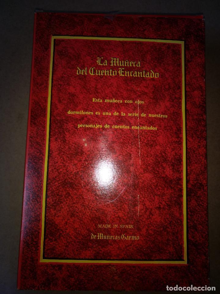 Muñecas Españolas Modernas: CAPERUCITA ROJA CAJA-LIBRO ORIGINAL,MADE SPAIN AÑOS 70 MUÑECAS GARMO - Foto 3 - 215837418