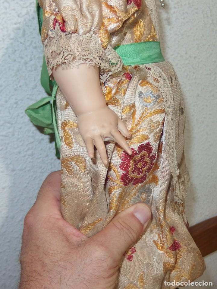 Muñecas Españolas Modernas: MUÑECA MARISU DE DURPE,VESTIDA DE FALLERA VALENCIANA,AÑOS 60 - Foto 7 - 217503300